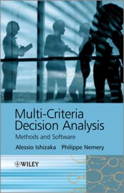 Ishizaka, Alessio - Multi-criteria Decision Analysis: Methods and Software, ebook