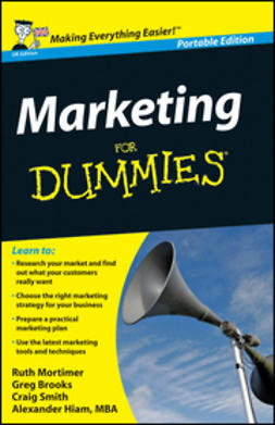 Brooks, Gregory - Marketing For Dummies<sup>&#174;</sup>, UK Edition, ebook