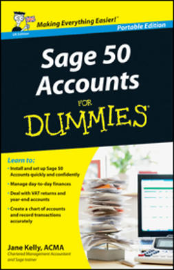 Kelly, Jane - Sage 50 Accounts For Dummies<sup>&#174;</sup>, ebook
