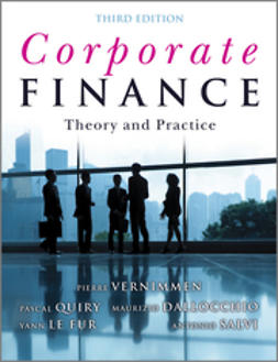 Quiry, Pascal - Corporate Finance: Theory and Practice, 3rd Edition, e-bok