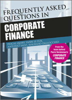 Quiry, Pascal - Frequently Asked Questions in Corporate Finance, ebook