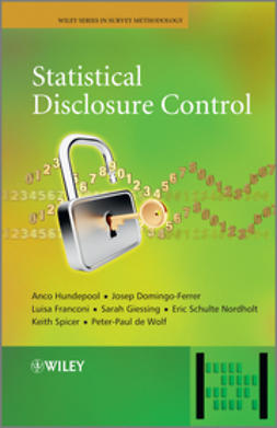 Hundepool, Anco - Statistical Disclosure Control, ebook