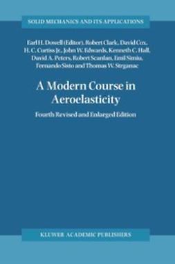 Clark, Robert - A Modern Course in Aeroelasticity, ebook