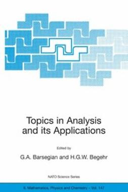 Barsegian, G. A. - Topics in Analysis and its Applications, e-bok