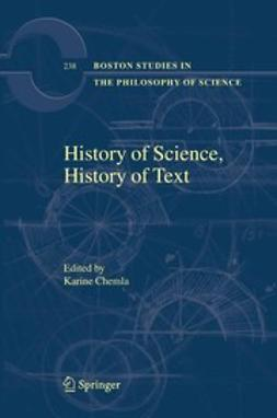 Chemla, Karine - History of Science, History of Text, ebook