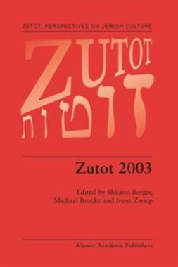 Berger, Shlomo - Zutot 2003, ebook