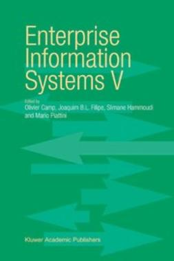 Camp, Olivier - Enterprise Information Systems V, ebook