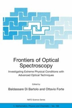 Bartolo, Baldassare - Frontiers of Optical Spectroscopy, ebook