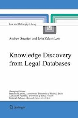 Stranieri, Andrew - Knowledge Discovery from Legal Databases, ebook