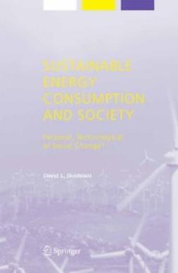 Goldblatt, David L. - Sustainable Energy Consumption and Society, ebook