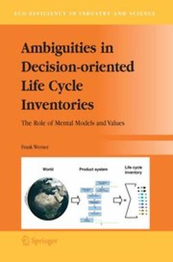 Werner, Frank - Ambiguities in Decision-oriented Life Cycle Inventories, e-kirja