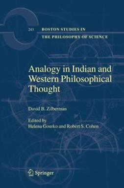 Cohen, Robert S. - Analogy in Indian and Western Philosophical Thought, ebook