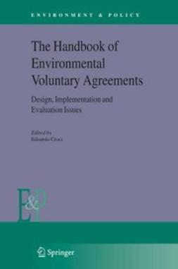 Croci, Edoardo - The Handbook of Environmental Voluntary Agreements, ebook