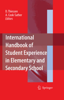 Cook-Sather, Alison - International Handbook of Student Experience in Elementary and Secondary School, ebook