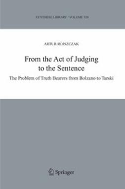 Rojszczak, Artur - From the Act of Judging to the Sentence, ebook