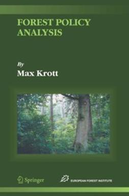 Krott, Max - Forest Policy Analysis, e-bok