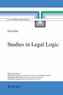 Hage, Jaap - Studies in Legal Logic, ebook