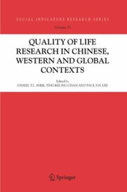 Chan, Ying Keung - Quality-of-Life Research in Chinese, Western and Global Contexts, ebook