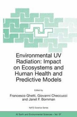 Bornman, Janet F. - Environmental UV Radiation: Impact on Ecosystems and Human Health and Predictive Models, e-bok