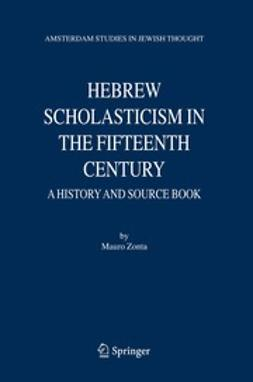 Zonta, Mauro - Hebrew Scholasticism in the Fifteenth Century, ebook