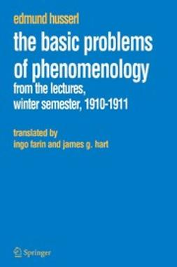 Husserl, Edmund - The Basic Problems of Phenomenology, ebook