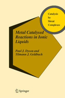 Dyson, Paul - Metal Catalysed Reactions in Ionic Liquids, ebook