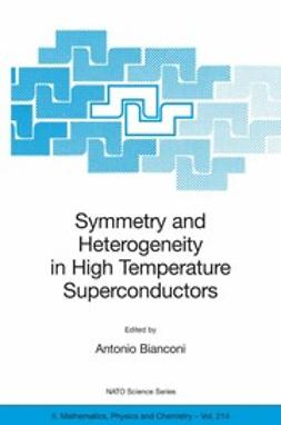 Bianconi, Antonio - Symmetry and Heterogeneity in High Temperature Superconductors, ebook
