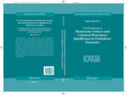 KIDA, SHIGEO - IUTAM Symposium on Elementary Vortices and Coherent Structures: Significance in Turbulence Dynamics, ebook