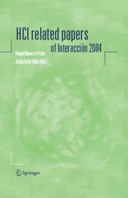 Navarro-Prieto, Raquel - HCI related papers of Interacción 2004, ebook