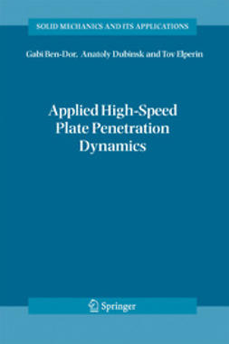 Ben-dor, Gabi - Applied High-Speed Plate Penetration Dynamics, e-bok