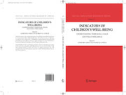 Ben-Arieh, Asher - Indicators of Children's Well Being, ebook
