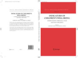 Ben-Arieh, Asher - Indicators of Children's Well Being, ebook