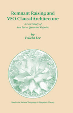 Lee, Felicia - Remnant Raising and Vso Clausal Architecture, ebook