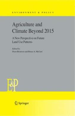 Brouwer, Floor - Agriculture and climate beyond 2015, ebook