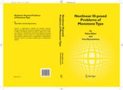 ALBER, YAKOV - Nonlinear Ill-posed Problems of Monotone Type, ebook