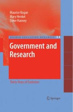 Hanney, Steve - Government and research, ebook