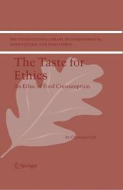 - THE TASTE FOR ETHICS, ebook