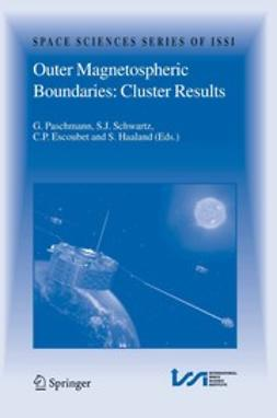 Escoubet, C. P. - Outer Magnetospheric Boundaries: Cluster Results, e-bok