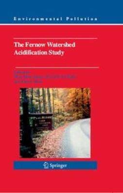 Adams, Mary Beth - The Fernow Watershed Acidification Study, e-kirja