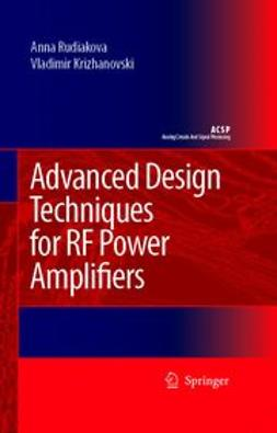 Krizhanovski, Vladimir - Advanced design techniques for RF power amplifiers, ebook