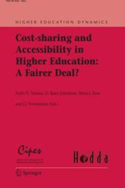 Johnstone, D. Bruce - Cost-Sharing and Accessibility in Higher Education: A Fairer Deal?, ebook