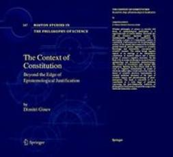 Ginev, Dimitri - The Context of Constitution, ebook