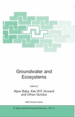 Baba, Alper - Groundwater and Ecosystems, ebook