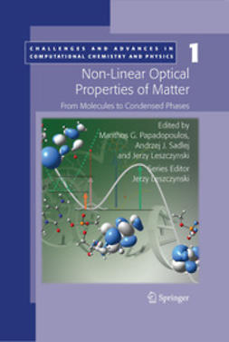 Leszczynski, Jerzy - Non-Linear Optical Properties of Matter, ebook