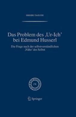 Taguchi, Shigeru - Das Problem des ,Ur-Ich, bei Edmund Husserl, ebook