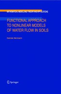 Marinoschi, Gabriela - Functional Approach to Nonlinear Models of Water Flow in Soils, ebook