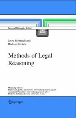 Brozek, Bartosz - Methods of legal reasoning, ebook