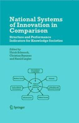Legler, Harald - National Systems of Innovation in Comparison, ebook