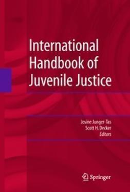 Junger-Tas, Josine - International Handbook of Juvenile Justice, e-kirja