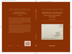 Tuominen, Miira - Apprehension and Argument, ebook